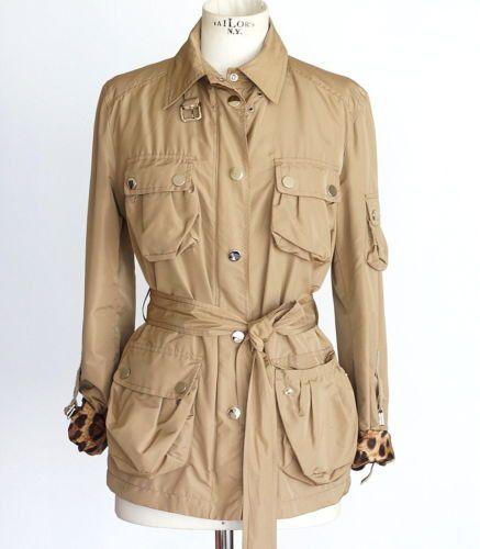 Dolce&Gabbana Jacket Khaki Safari Influence light weight 44 / 8