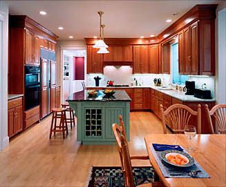 Decorating Above Kitchen Cabinets By Wring Soffits With Same Wood As And Adding Large Crown