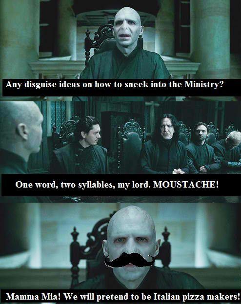 The Dark Lords Pizza Harry Potter Jokes Harry Potter Memes Hilarious Harry Potter Puns