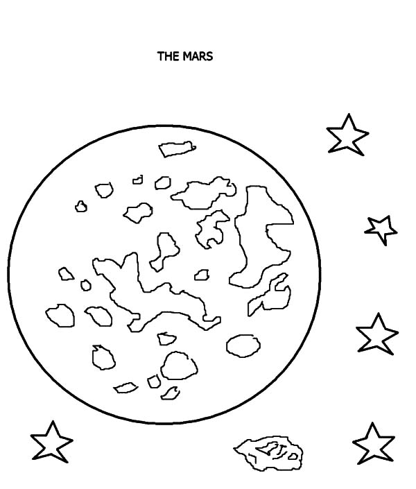 Mars The Red Planet Planet Coloring Pages Color Luna Planet Coloring Pages Coloring Pages Sun Coloring Pages