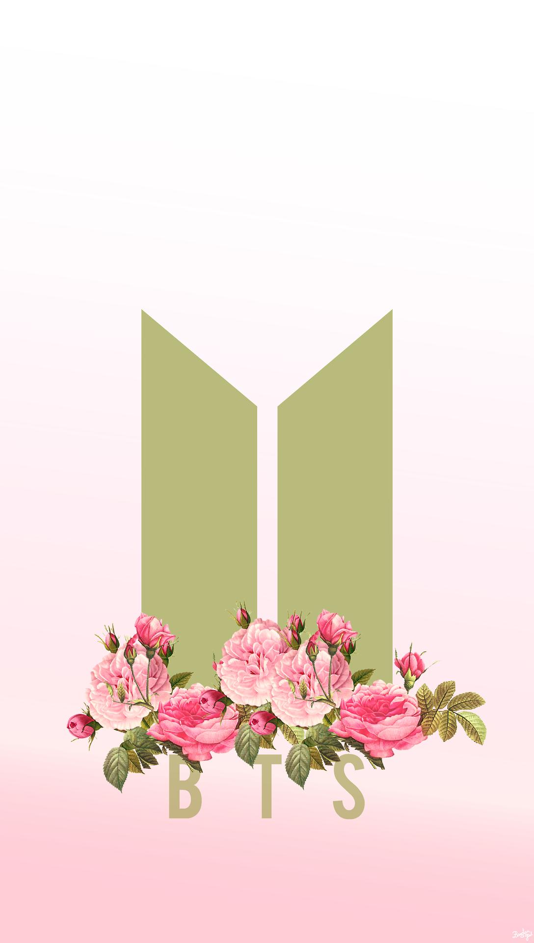 Cute Pink Wallpapers For Samsung Galaxy Y Resultado De Imagen Para Bts Logo Tumblr Bts Bts Bts