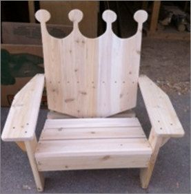 a5e6f58e8d0 Kansas City Royals inspired adirondack chair   FREE SHIPPING   by  TwoHeartedCabincraft on Etsy