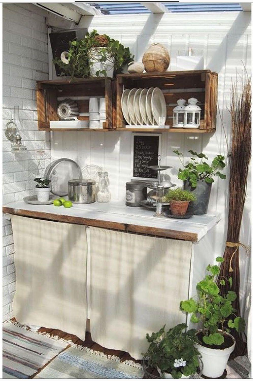 Pin By Jelena Sneblic On Polica Kuhinjica Small Kitchen Decor Outdoor Kitchen Cabinets Build Outdoor Kitchen