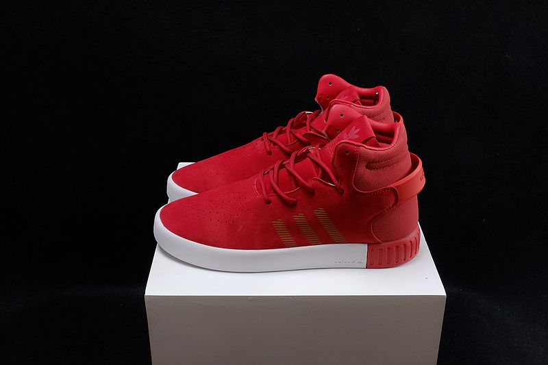 Feb Shoes 2017 Adidas-Tubular-Invader-Strap-Solar-Red-White-Gold ... 0085041a7