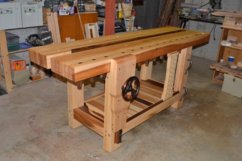 Gallery Of Benches Split Top Roubo Workbench In 2019