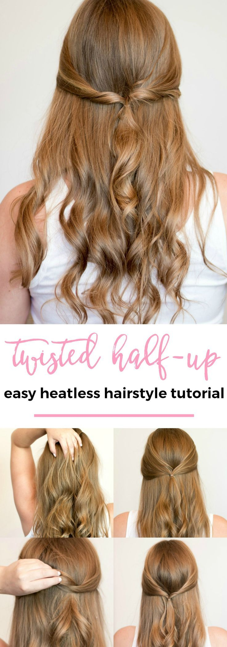 Easy heatless hairstyles for long hair the best of beauty