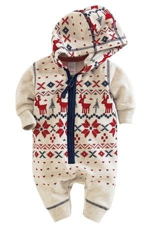 Buy Fairisle Pattern Romper online today at Next Direct United ...