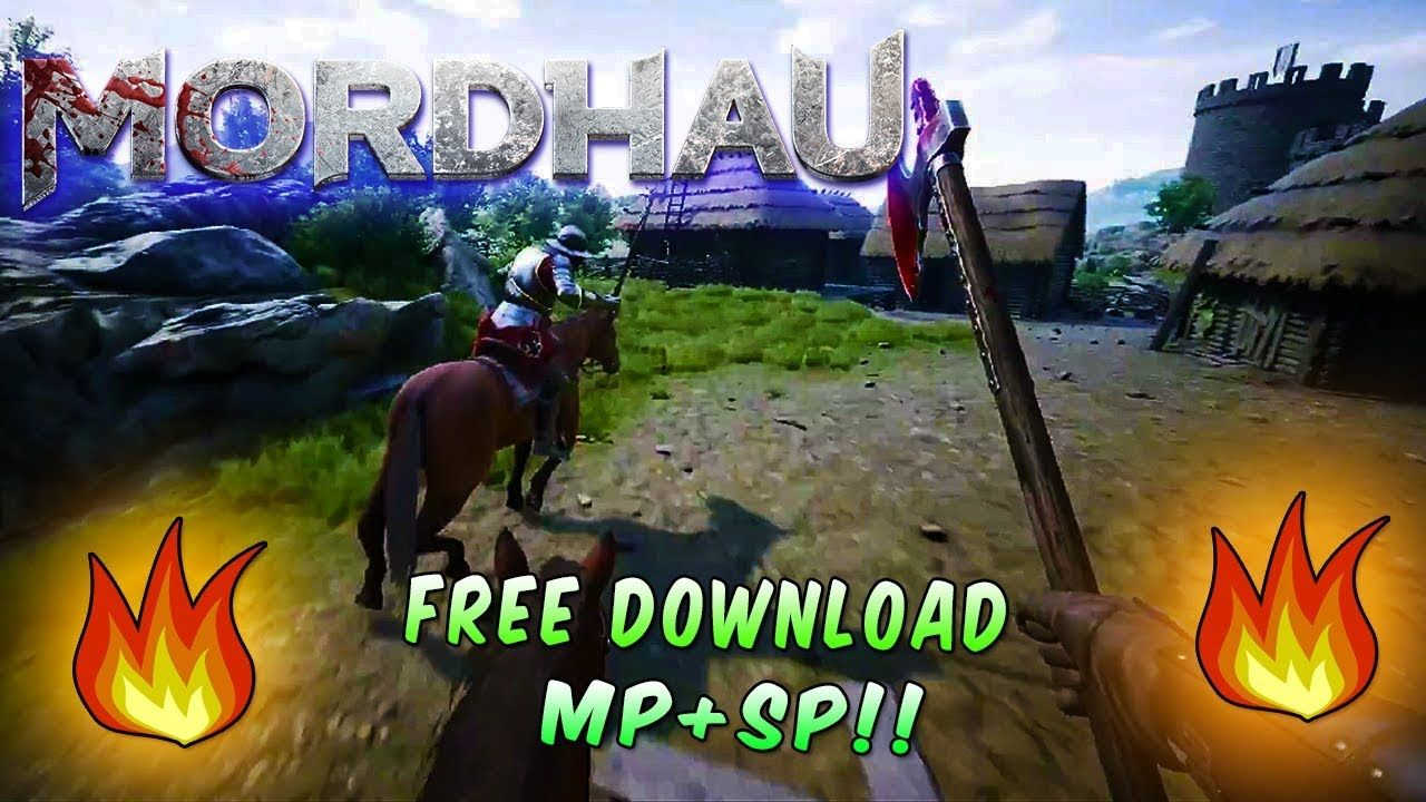 (MP+SP!!) How TO DOWNLOAD MORDHAU FOR FREE ON PC FULL