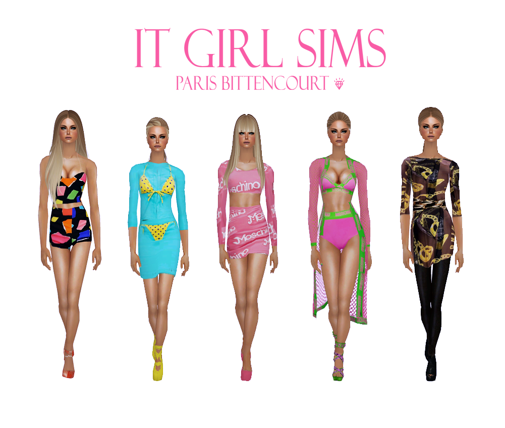 It Girl Sims: Collections