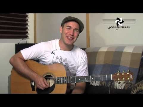 Mad World - Gary Jules (Easy Beginner Song Guitar Lesson BS-302) how ...