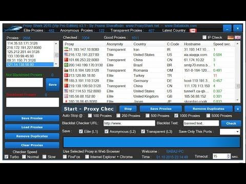 Proxy Shark Vip Pro Edition 2017-2018 Free download | Get unlimited