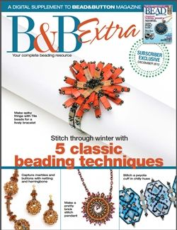 B Extra, a free online exclusive for Bead subscribers!