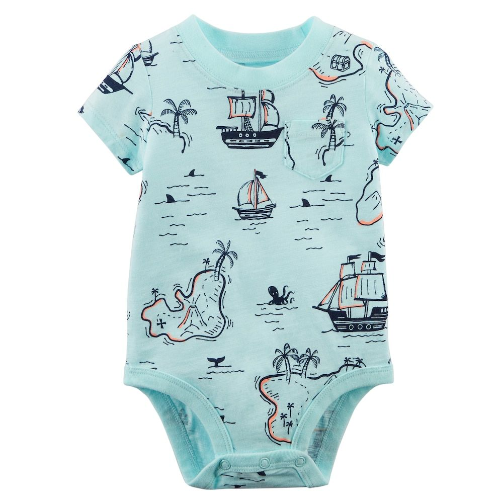 NWT Gap Baby Boy Logo Bodysuit Fox Sizes 0-3M 6-12M Free Shipping NEW