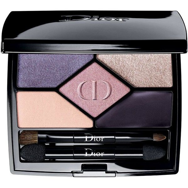 Dior Women's 5 Couleurs Designer Eyeshadow Palette (195 BRL) ❤ liked on Polyvore featuring beauty products, makeup, eye makeup, eyeshadow, cosmetics - dior cosmetics, purple design, christian dior eye shadow, christian dior, palette eyeshadow and christian dior eyeshadow