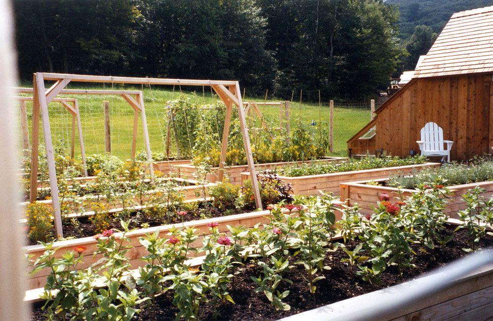 Lakeville Connecticut Farmhouse Landscape Design Garden Design Farm Life