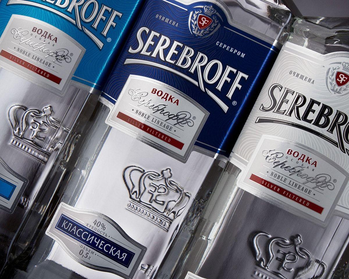 TheBestPackaging.ru – Serebroff – водка от ALLBERRY