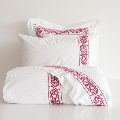 Embroidered Egyption Cotton Bedding | Zara Home United States