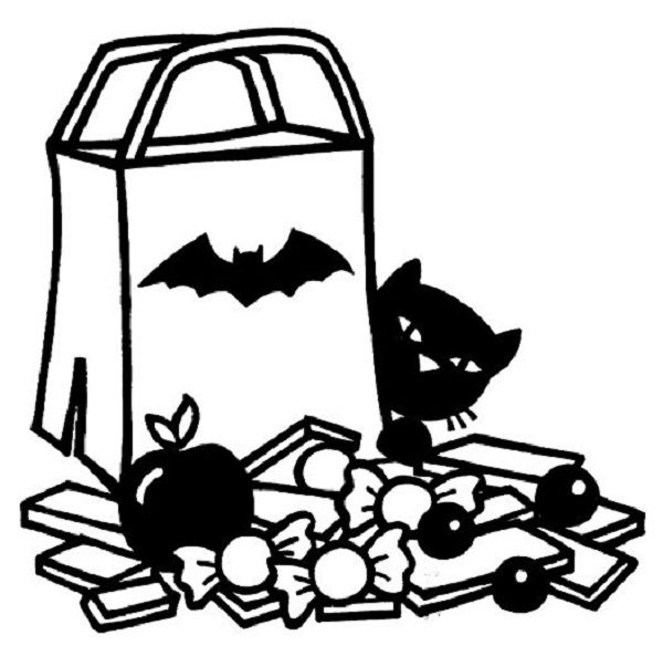 halloween coloring pages candy corn | coloring kids | Pinterest ...