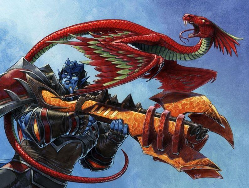 A tamed Wind serpent wow pets Warcraft art, Warcraft