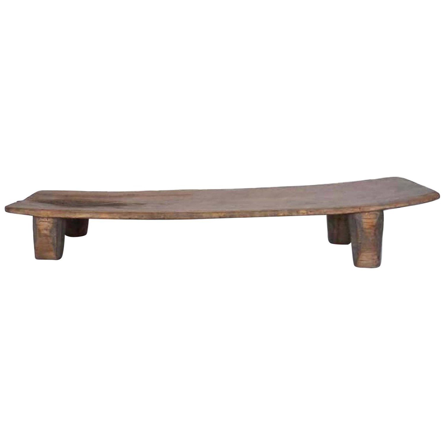 Antique African Nupe Childs Bed, Coffee Table Or Bench