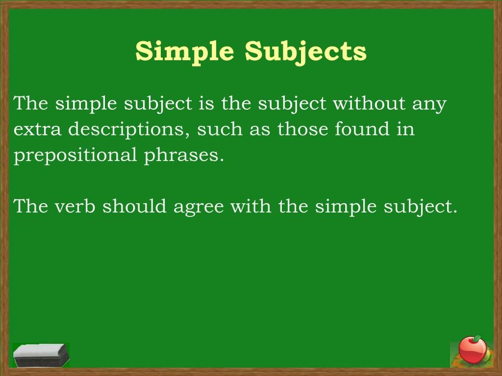 13 Unique Simple Subject Ceplukan Simple Subject Prepositional Phrases Subject And Predicate [ 768 x 1024 Pixel ]