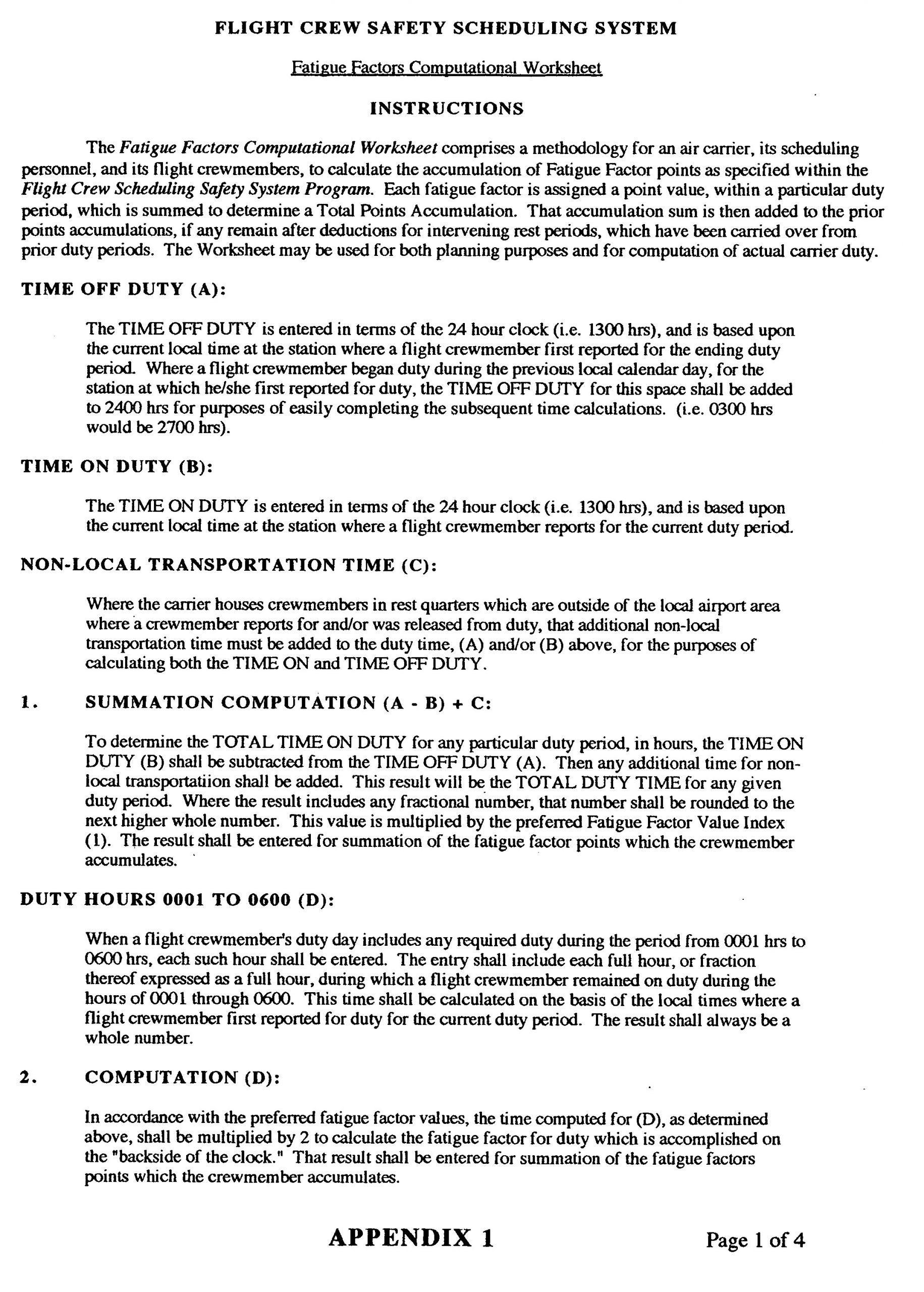 5 Transportation Safety Worksheets In