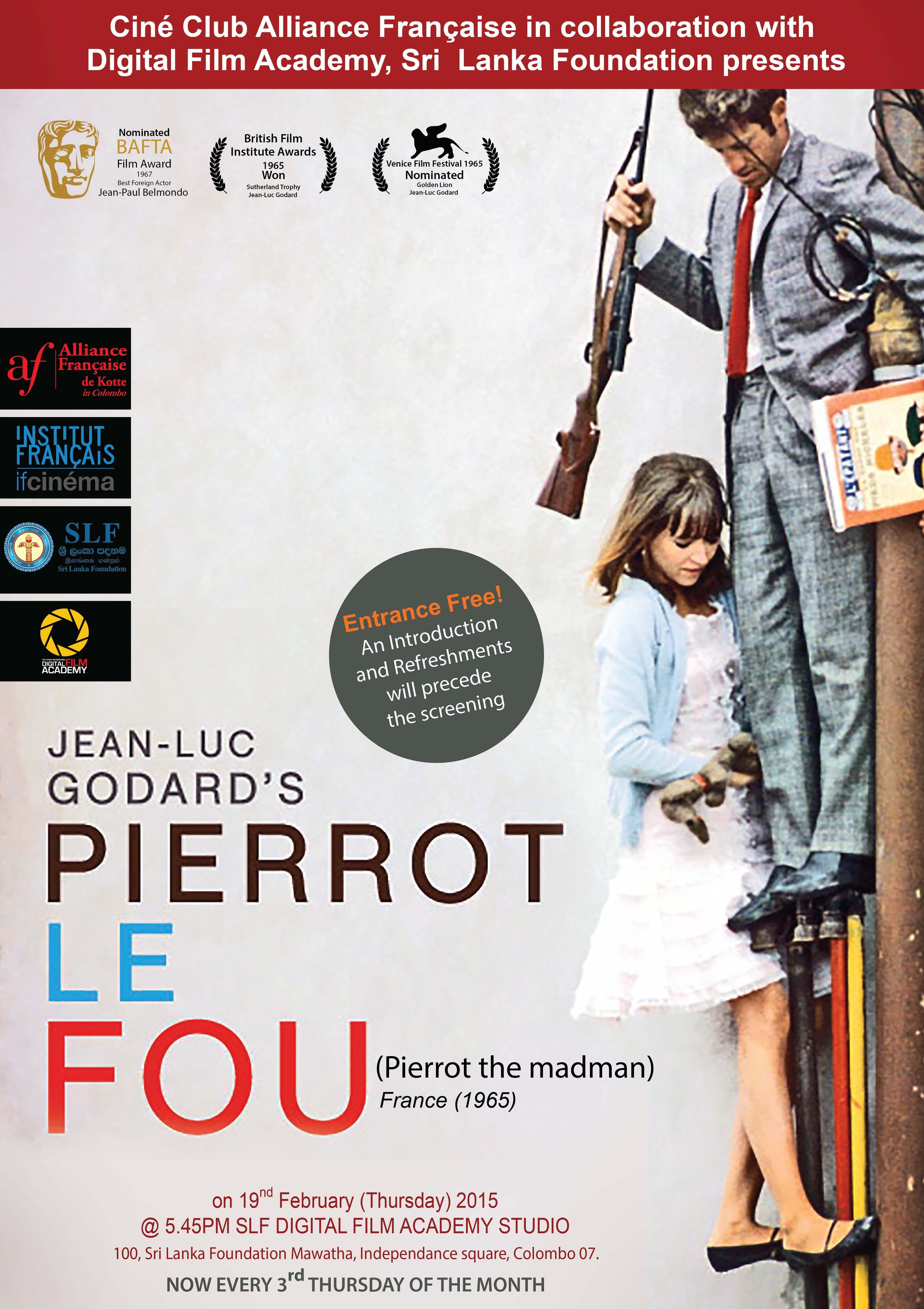 Pierrot le Fou 1965 FRENCH 1080p Bluray | ToRRENTiN\' • LiNks To ART ...