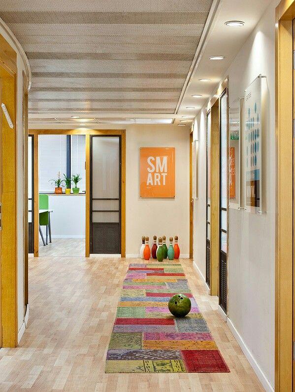 Office of an internet company in Tel Aviv Office design