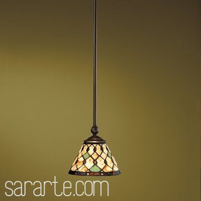 Stained glass light fixtures oiled bronze tiffany stained glass stained glass light fixtures oiled bronze tiffany stained glass tiffany single light mini pendant mozeypictures Images