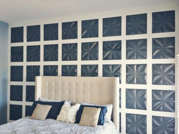 Feature Wall Using 3d Panels And Board And Batten Mesmerizing