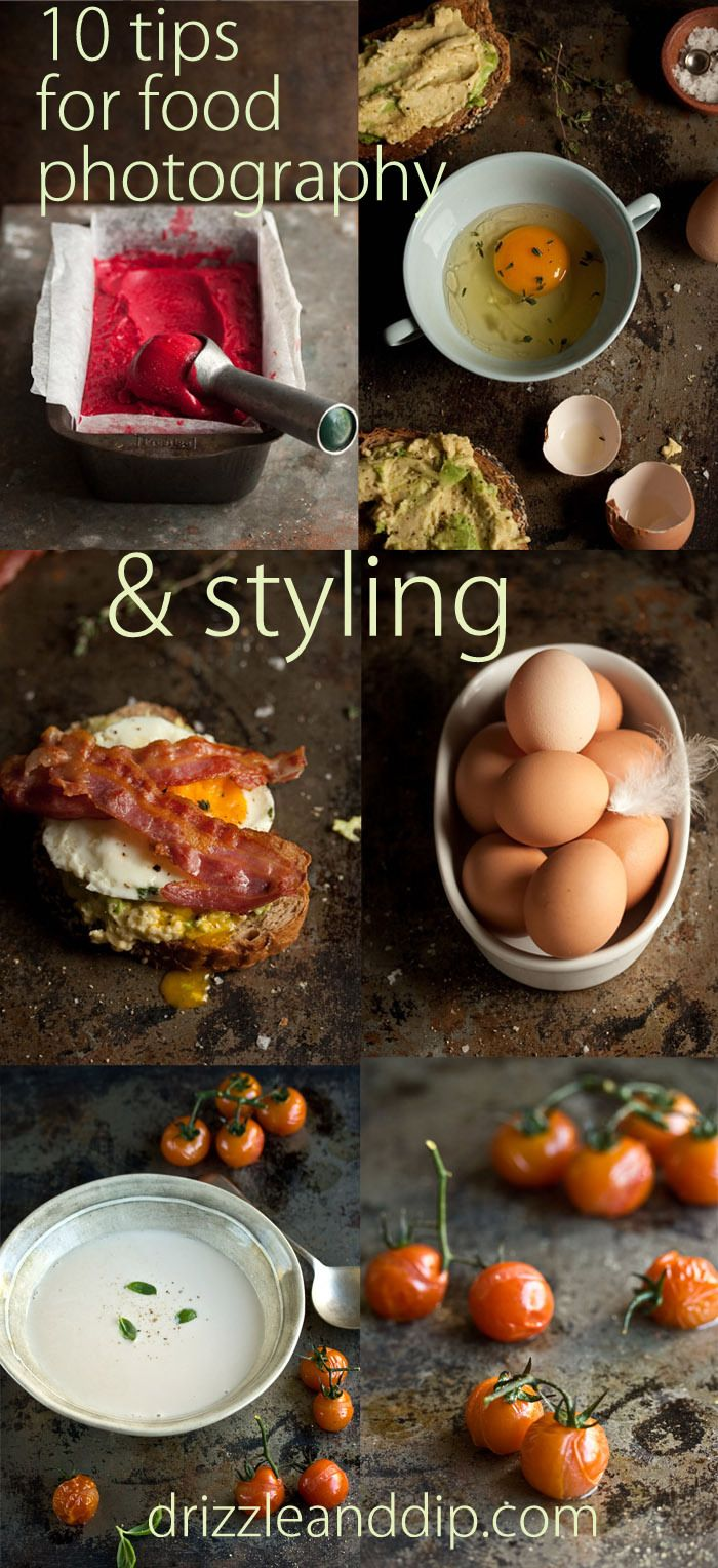 10 tips for food photography & styling