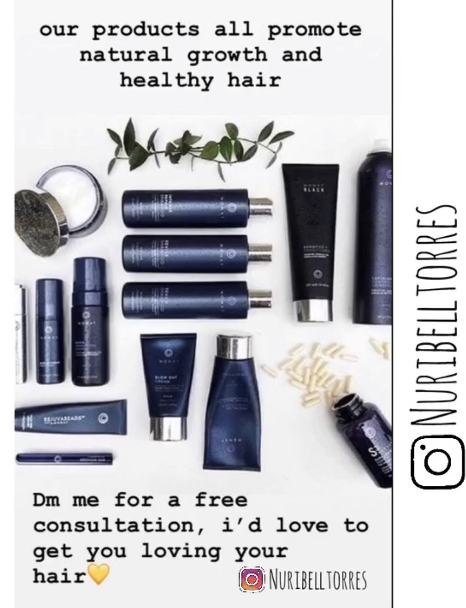 Premium Hair and Skincare Products MONAT Global in 2020