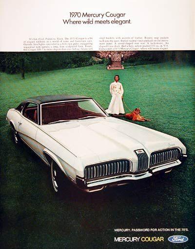 Cougar Vintage September 2013: 1970 Mercury Cougar