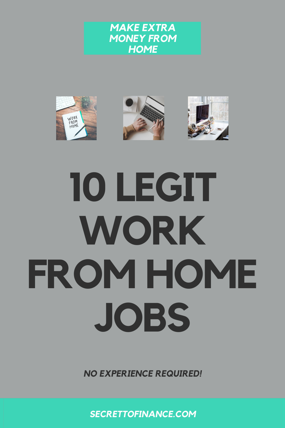10 legit work from home jobs that require no experience in