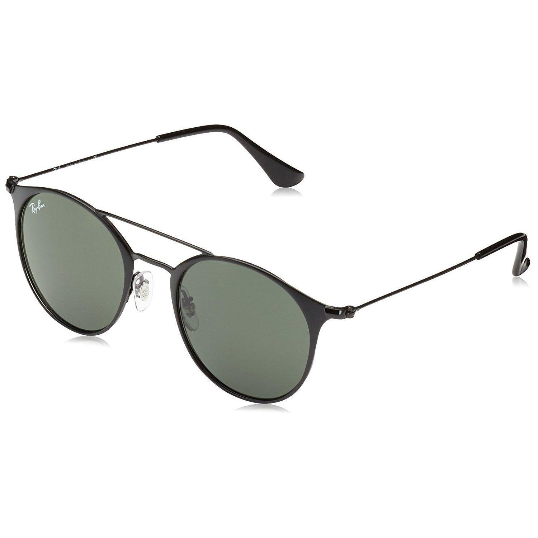 1ca3fd36c9f Ray-Ban Unisex RB3546 186 Frame Green Classic G-15 52 mm Lens Sunglasses
