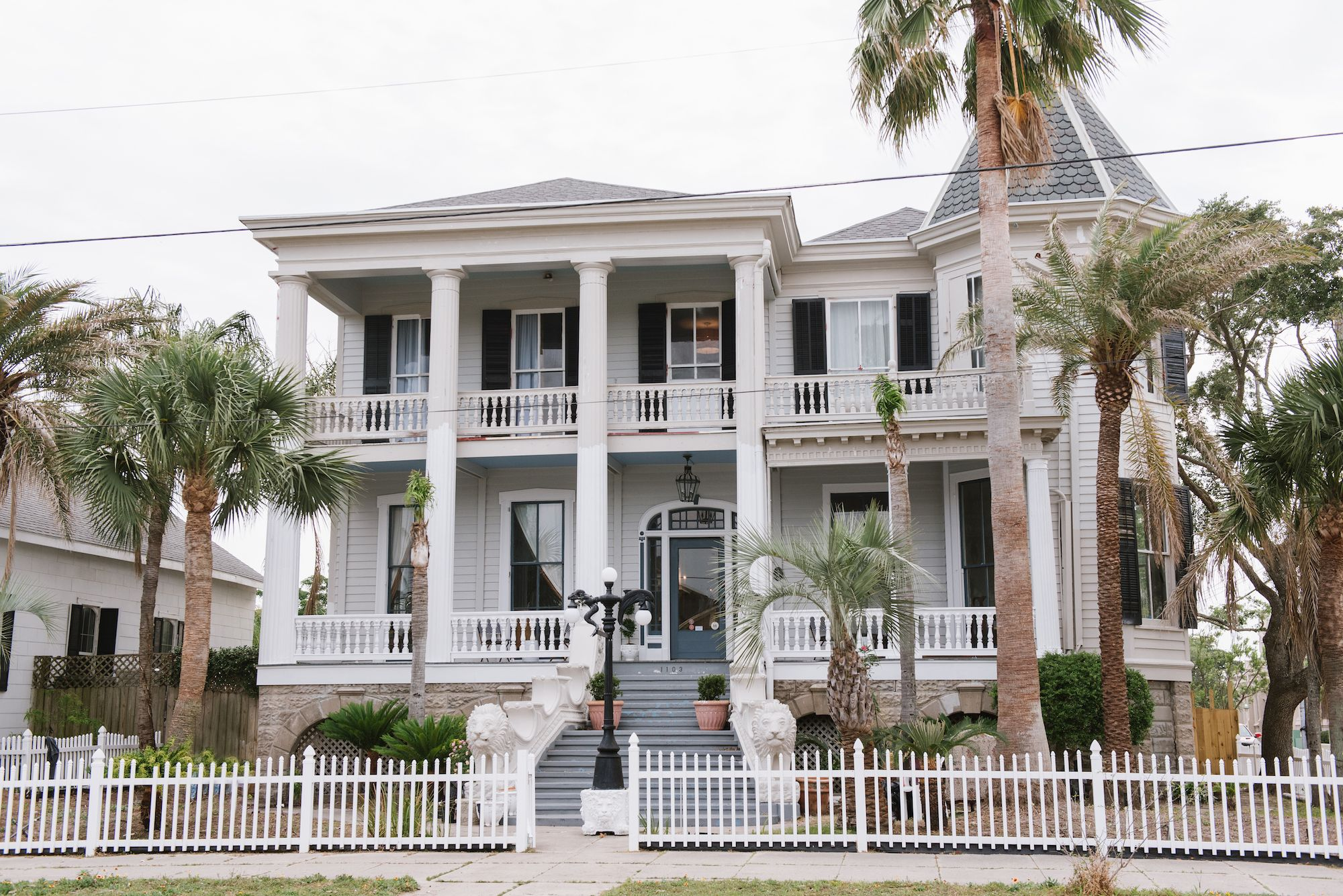 First Look Galveston's Historic Carr Mansion Goes Glam in
