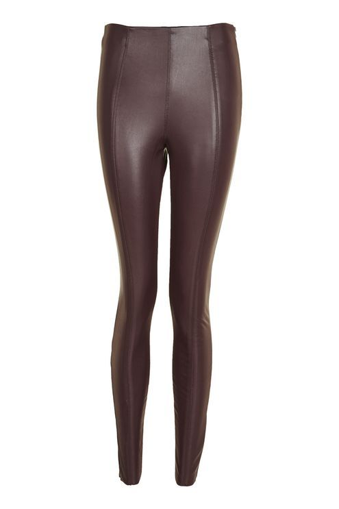 Stretch Faux Leather Leggings