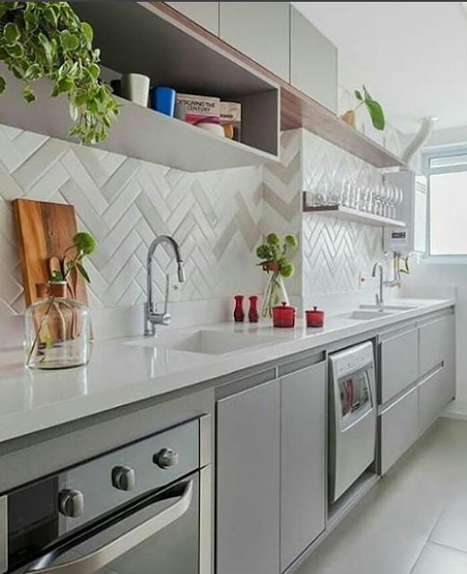 Pin By Nina Pereira On Cozinhas: 15 Cozinhas Pequenas Planejadas E Mais Lindas Do Instagram