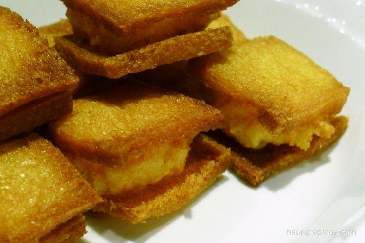 面包虾 Mianbao Xia 멘보샤 Shrimp Toast 요리