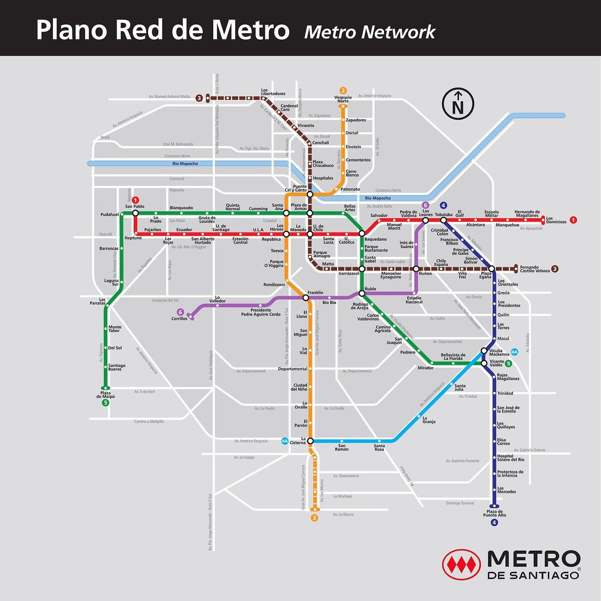 Metro De Santiago Quedateencasa On Twitter Transit Map Map Metro Map