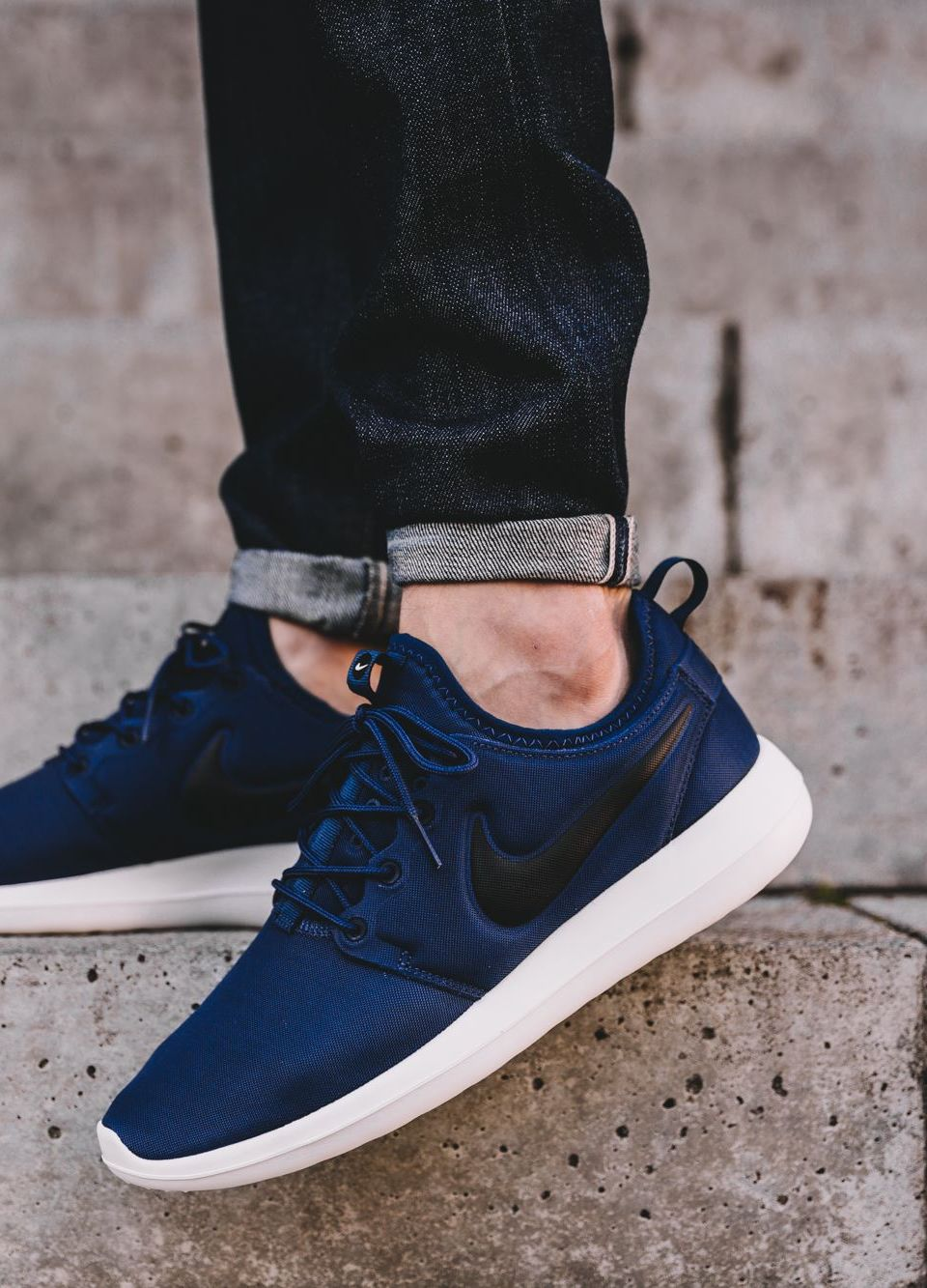 0d81295ec25d6 Nike Roshe Two Midnight Navy  sneakernews  Sneakers  StreetStyle  Kicks