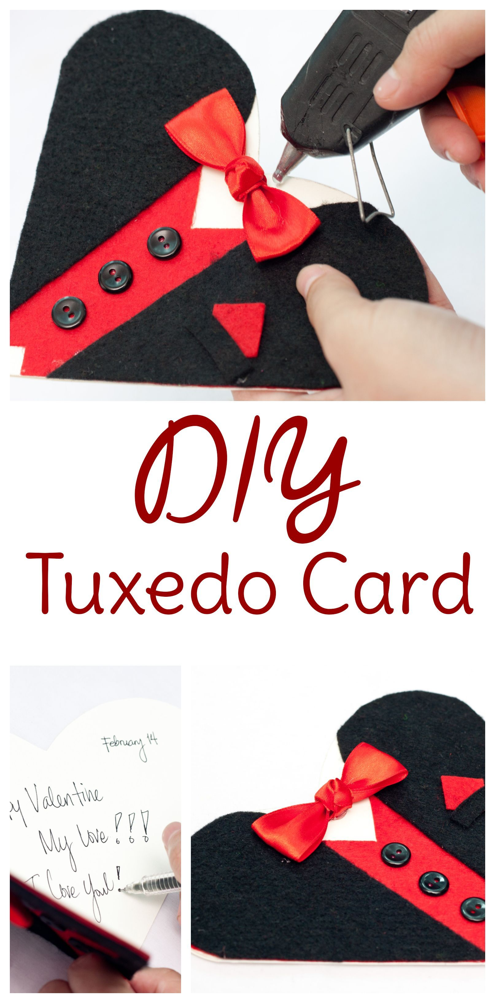 Tuxedo Card Tuxedo Card Diy With Free Printable Heart Template Tuxedo Card In 2020 With Images Tuxedo Card Printable Heart Template Card Making Ideas Free Printables