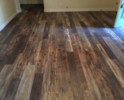 multicolored wood and laminate flooring