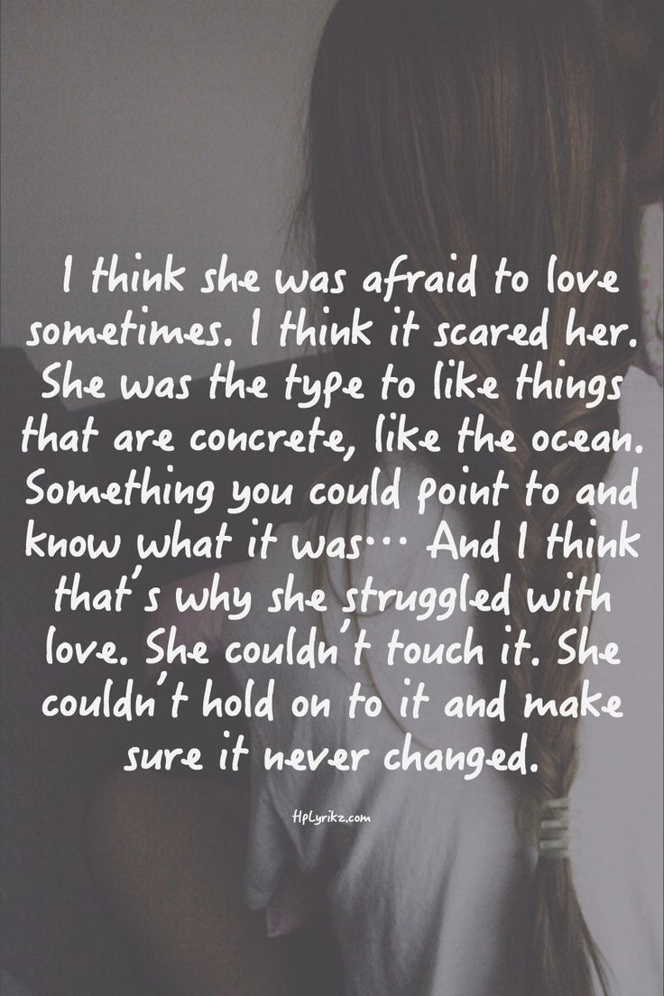 Afraid Quotes About Love. QuotesGram