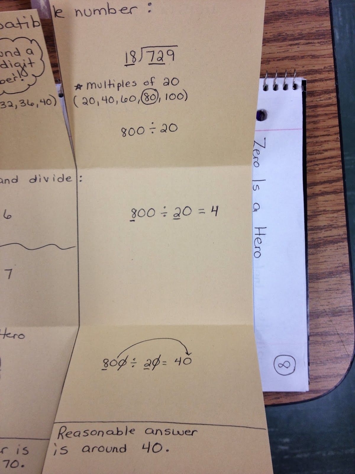 Compatible Numbers Definition And Pictures For 5th Grade