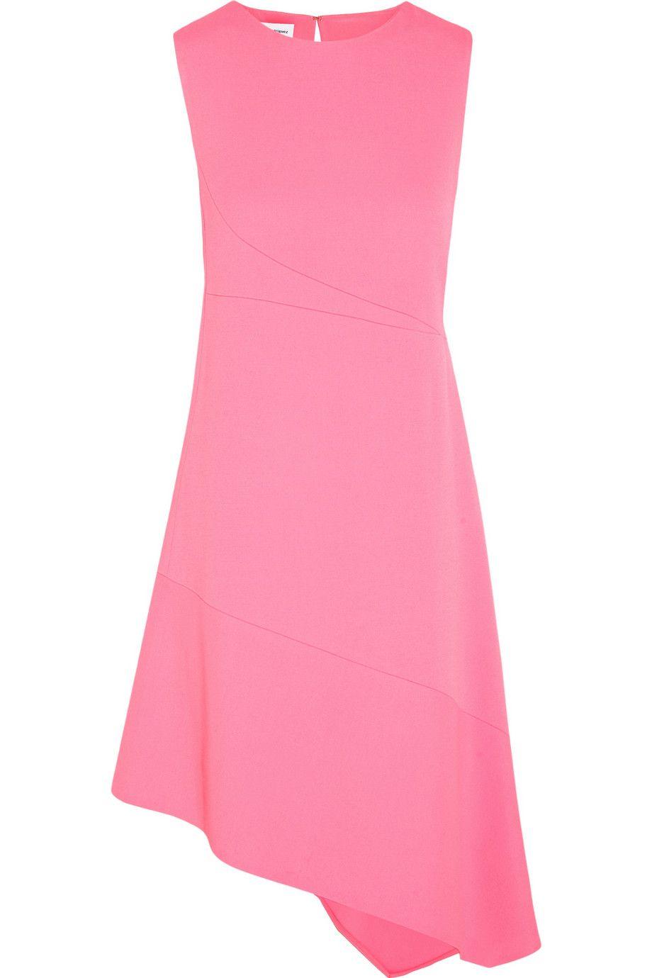 NARCISO RODRIGUEZ Asymmetric Crepe Dress. #narcisorodriguez #cloth ...