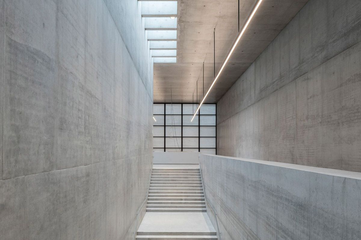 David Chipperfield Architects Opens James Simon Galerie On Berlin S Museum Island David Chipperfield Architects David Chipperfield Architecture Museum Island