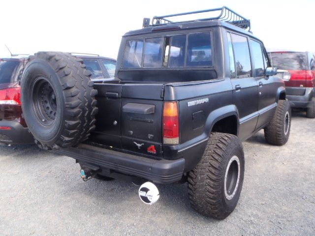 Imagen 6 De Isuzu Trooper Black Troopah Pinterest Offroad