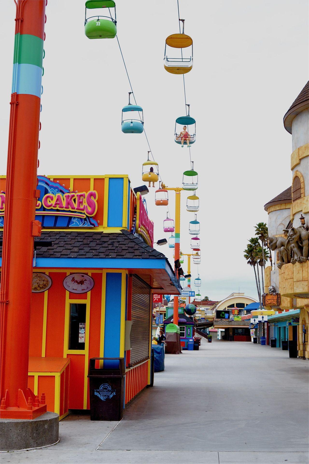 Santa Cruz Boardwalk. California / USA | California travel ...