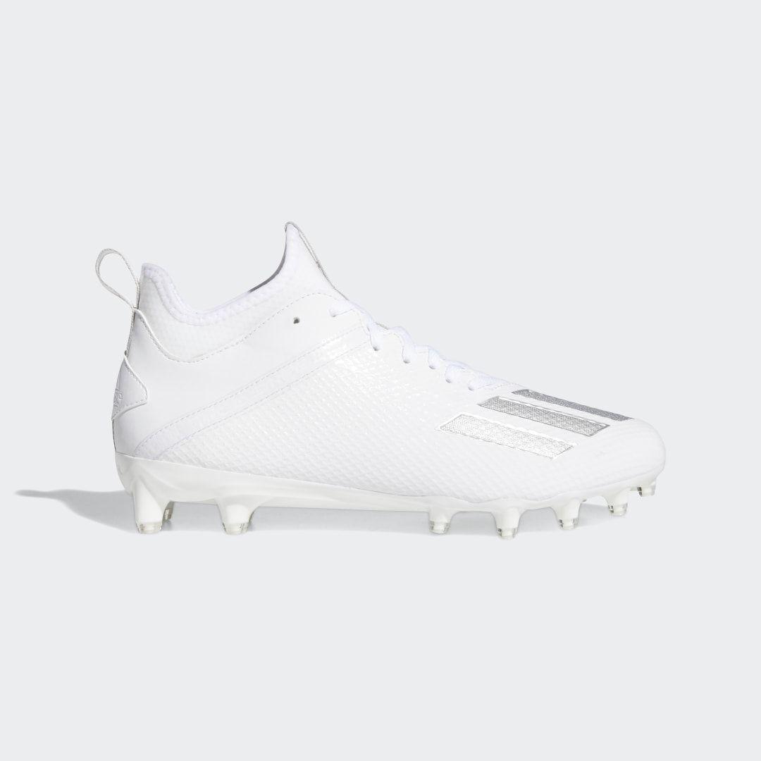 Adidas Adizero Scorch Cleats White Adidas Us In 2020 Adidas Football Cleats Cleats Football Cleats